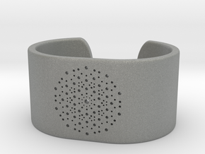 Quasicrystals Diffraction Pattern Bracelet - simpl in Gray Professional Plastic