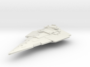 First order Victory Cruiser in White Natural Versatile Plastic