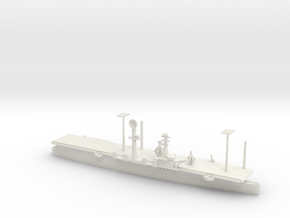 1/700 Scale USS Wright CC-2 in White Natural Versatile Plastic