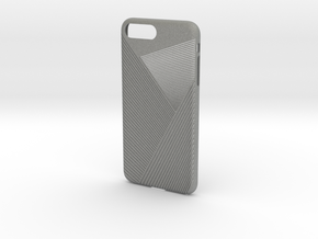 iPhone 7 plus case_Geometric No.2 in Gray Professional Plastic
