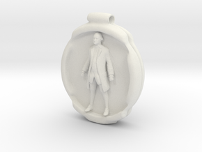 Cosmiton P George Washington - 50 mm in White Natural Versatile Plastic