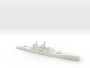 1/600 HMS Plymouth in White Natural Versatile Plastic
