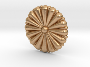 1/96 IJN Gold Chrysanthemum in Natural Bronze