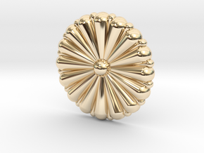 1/100 IJN Gold Chrysanthemum in 14K Yellow Gold