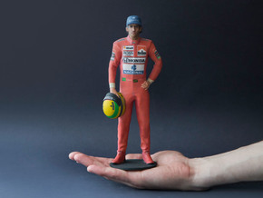 Ayrton 1988 1/8 Standing Figure in Full Color Sandstone