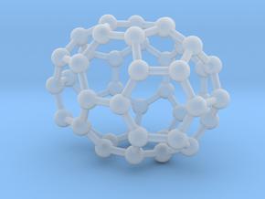 0667 Fullerene c44-39 c2v in Smooth Fine Detail Plastic