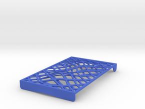 Code Card Case Design II Cap in Blue Processed Versatile Plastic
