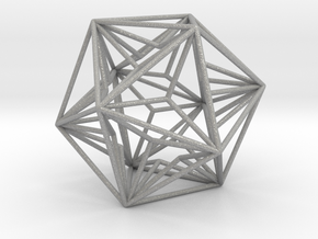 """Great Dodecahedron 1.6+"""" in Aluminum"""