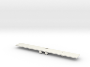 NS 1500 and EM2 Chassis N Gauge (1/148 and 1/160) in White Natural Versatile Plastic: 1:148