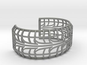 Tire Bracelet in Gray PA12