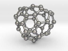 0668 Fullerene c44-40 c1 in Natural Silver