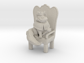 Cat Lord in Natural Sandstone