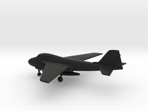 Grumman A-6E Intruder in Black Natural Versatile Plastic: 1:200