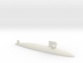 Uzushio-class submarine, 1/2400 in White Natural Versatile Plastic