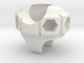 ExoSkin Utility Belt Hip Upgrade for ModiBot Mo in White Natural Versatile Plastic
