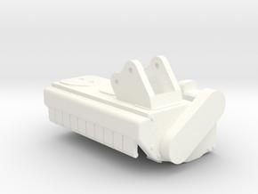 Mulcher in White Processed Versatile Plastic
