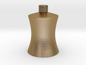 CHUAN'S Fat Bottle in Polished Gold Steel