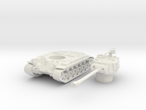 M26 pershing scale 1/87 in White Natural Versatile Plastic