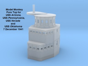 1/350 USS Arizona Fore Top, 7 December 1941 in Smoothest Fine Detail Plastic