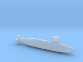 Yūshio-class submarine, Full Hull, 1/2400 in Smooth Fine Detail Plastic