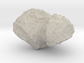 Comet 67P/C-G 1:100,000 scale in Natural Sandstone
