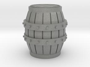 HO scale barrel in Gray PA12