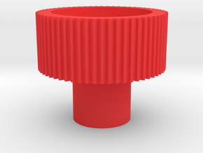 "1/4"" finger driver in Red Processed Versatile Plastic"