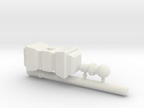 Stormbreaker War Hammer for ModiBot in White Natural Versatile Plastic