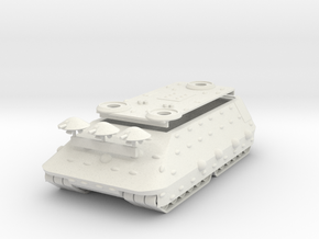 Bolo Mk 33 Land Battleship in White Natural Versatile Plastic: 1:1000