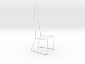 Leisure chair in White Natural Versatile Plastic