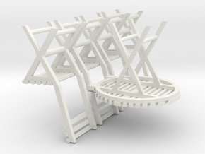 C-43-table-and-4-chairs-1a in White Natural Versatile Plastic