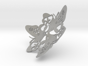 Butterfly Bowl 1 - d=8cm in Aluminum