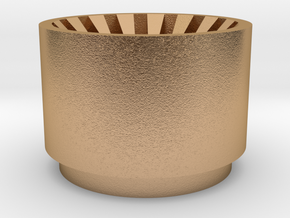 Kylo Ren blade plug Korbanth Crossguard 2.0 in Natural Bronze