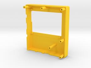 E-paper case top in Yellow Processed Versatile Plastic