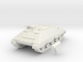 Jaguar I scale 1/87 in White Natural Versatile Plastic