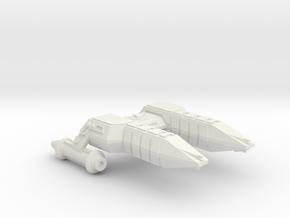 3788 Scale Lyran Refitted Cheetah Frigate (FF) CVN in White Natural Versatile Plastic