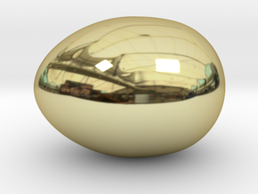 Chicken egg in 18K Yellow Gold