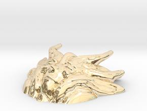 Earth Goddess Short Version in 14k Gold Plated Brass