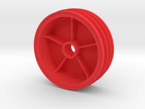 losi jrx pro front wheel in Red Processed Versatile Plastic