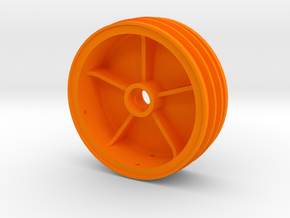 losi jrx pro front wheel in Orange Processed Versatile Plastic