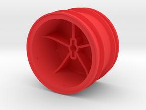 losi jrx pro rear wheel in Red Processed Versatile Plastic