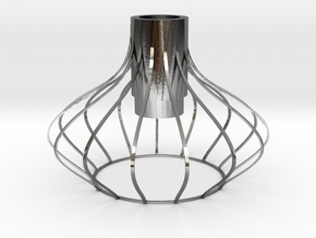 lampshade in Polished Silver