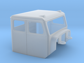 Truck Cab, Be-Ge 1800, fits Tekno Scania in Smooth Fine Detail Plastic
