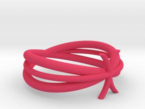 Finger upper knot in Pink Processed Versatile Plastic: 3 / 44