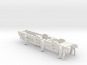 7mm - FR D1 & Cambrian SGC - 0 Chassis in White Natural Versatile Plastic