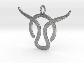 Taurus  in Natural Silver