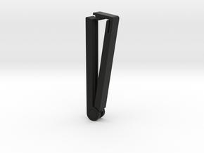 Bag Clip | Lenght - 60mm in Black Natural Versatile Plastic