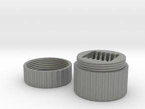 SD Card Case in Gray Professional Plastic