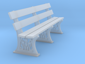 GWR bench 3mm scale 10ft length in Smooth Fine Detail Plastic