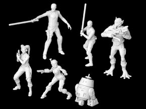 (1/47) The Ghost Crew in Smooth Fine Detail Plastic